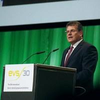 Die Rede des EU-Kommissars Šefčovič zum EVS 30
