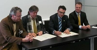 Memorandum wird unterzeichnet