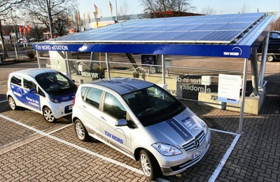 Solar carport tuev bsm e v for Carport hannover