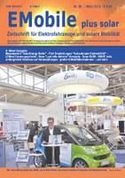 """Aktuelle Zeitschrift """"EMobile"""" Nr. 85 auf der Hannover Messe"""